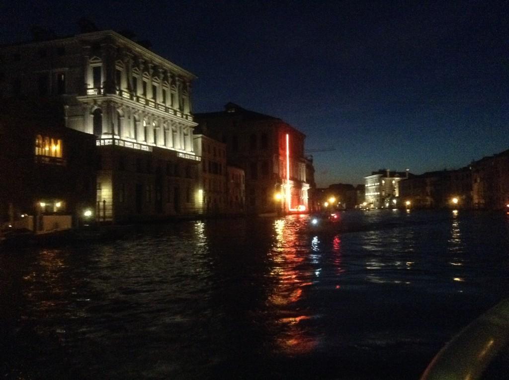 Grand Canal de nuit - Venise