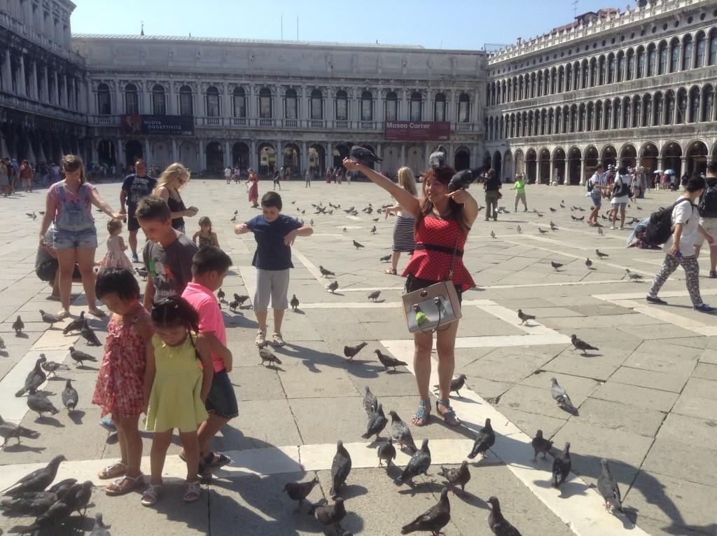 La piazza San Marco - Venise