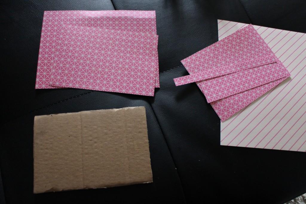3 - carton et papier à motifs