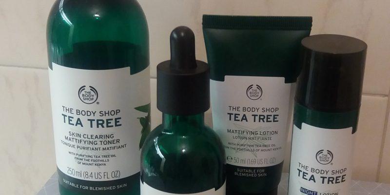 Gamme tea tree The Body Shop