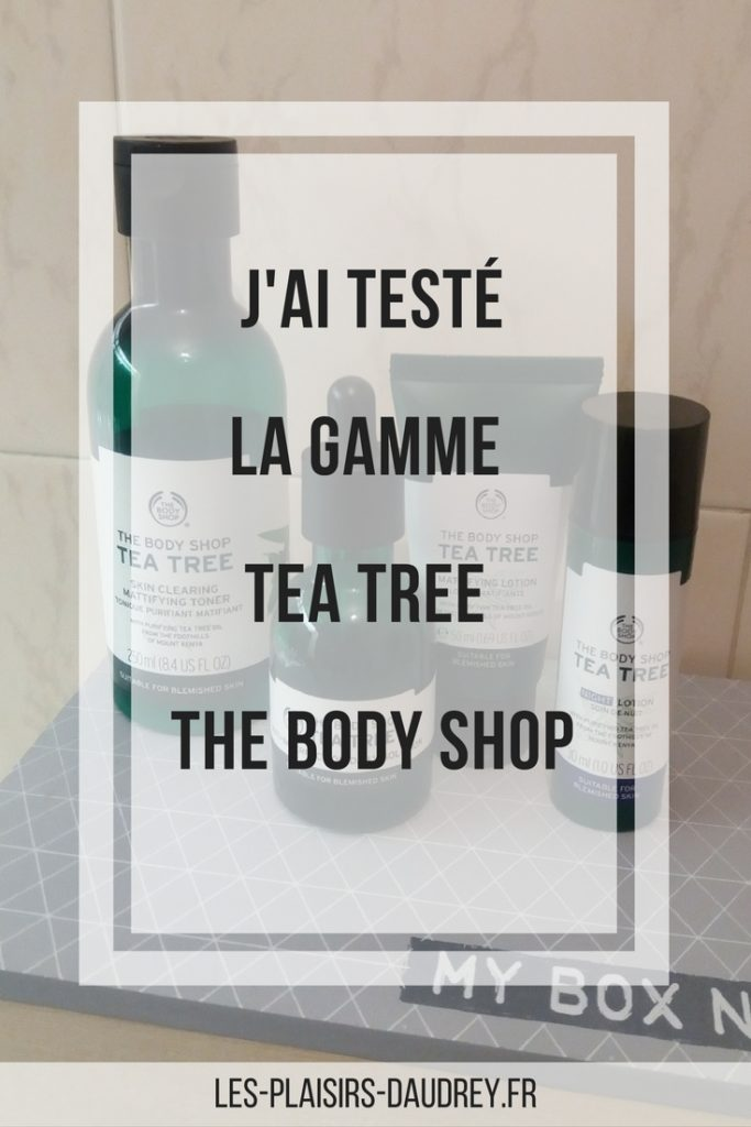 the body shop gamme tea tree