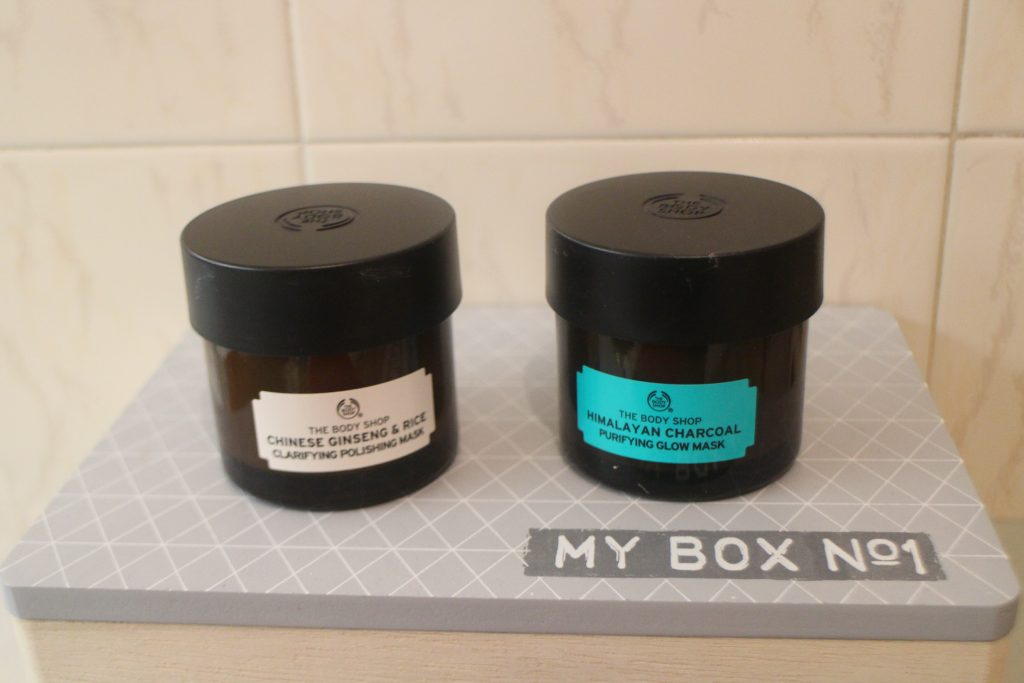 The body shop masques visage experts