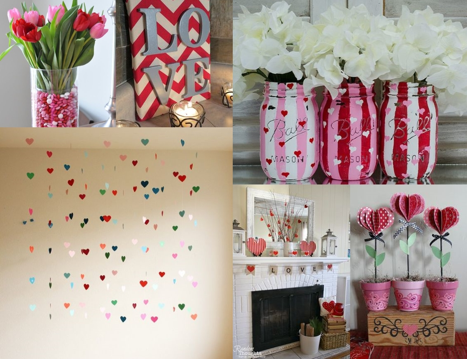 D coration saint valentin pinterest les plaisirs d 39 audrey for Decoration porte st valentin