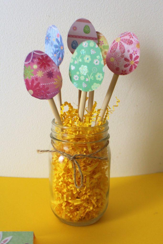 DIY Pâques - Bouquet d'œufs de Pâques