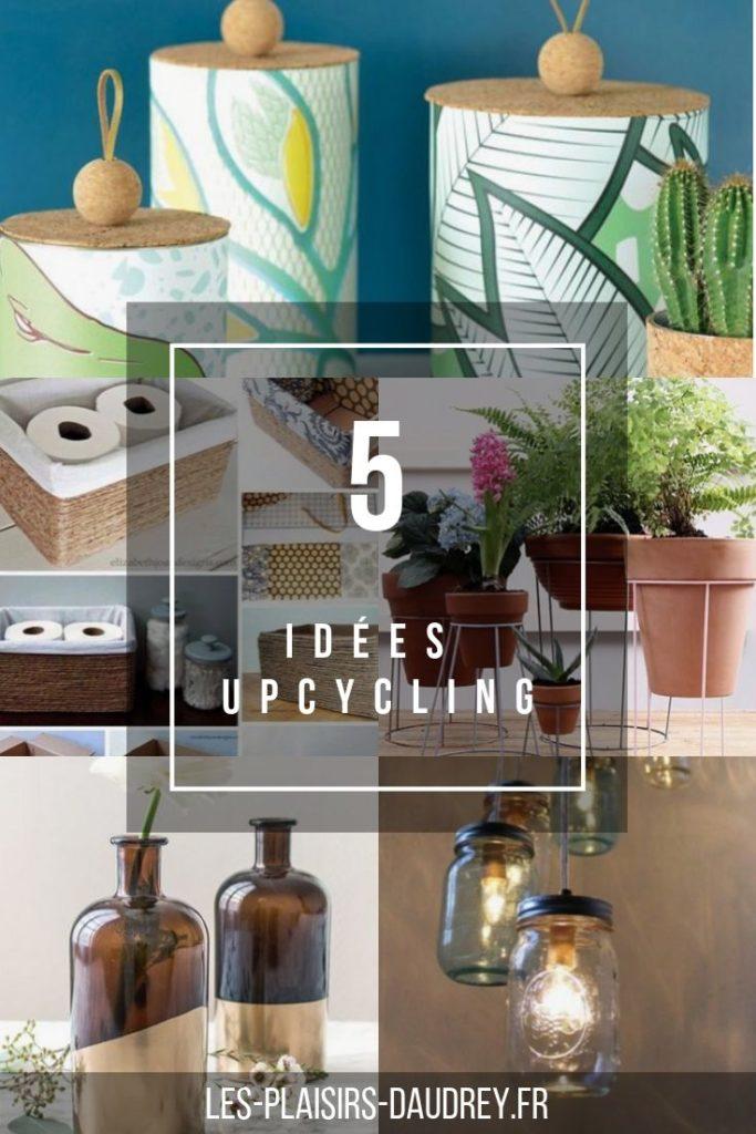 5 idées upcycling