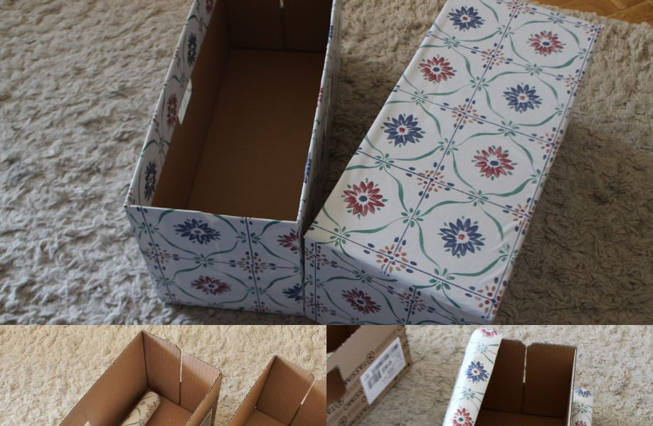 Recycler Une Boite En Carton En Boite De Rangement Les Plaisirs D Audrey