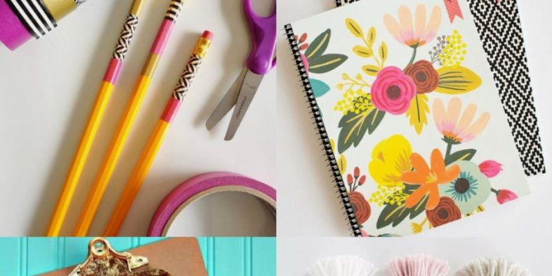 5 idées de DIY Back to School